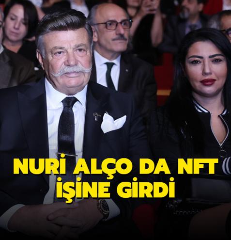 Nuri Alço da NFT işine girdi