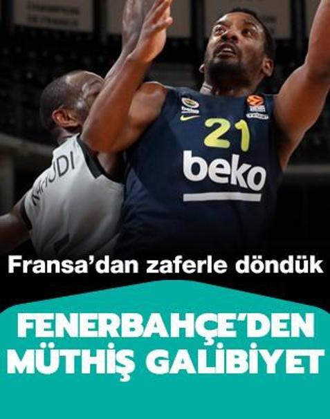 Fenerbahçe'den müthiş galibiyet! Fransa'dan zaferle döndük