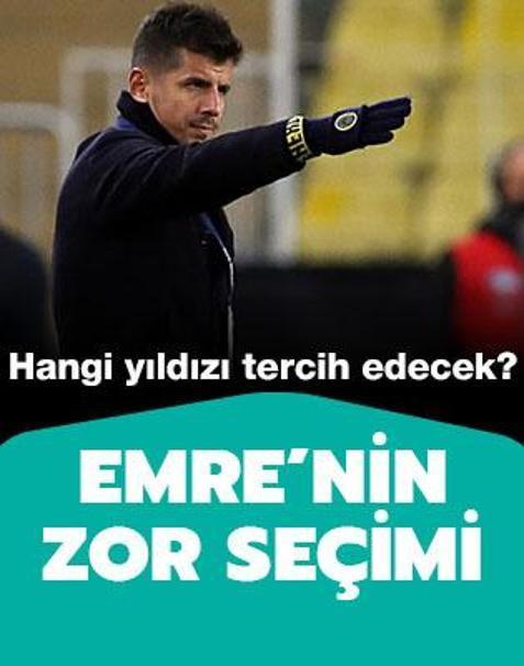 Emre Belözoğlu'nun zor seçimi