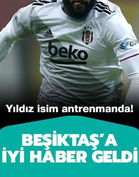 Beşiktaş'ta Kevin N'Koudou sevinci yaşanıyor