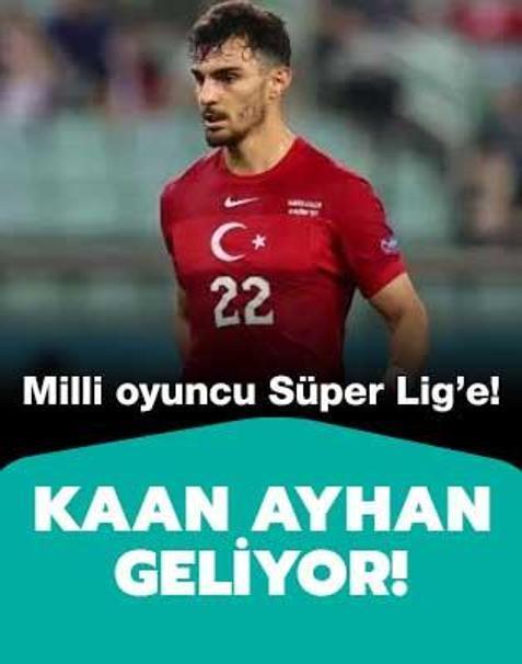 Kaan Ayhan Beşiktaş'a geliyor