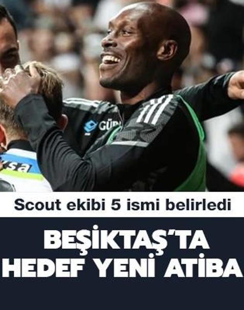 Beşiktaş'ta Atiba'nın yerine 5 aday