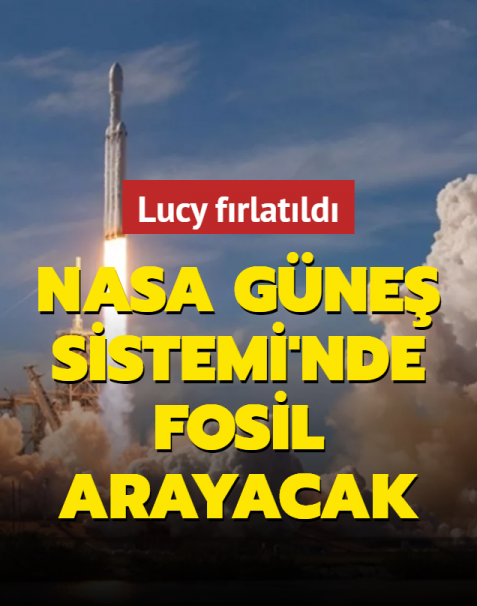 NASA Güneş Sistemi'ni inceliyor... Lucy uzay aracı 12 yıl boyunca çalışacak