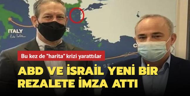 Bu kez de 'harita' krizi yarattı... ABD ve İsrail'den skandal hamle!