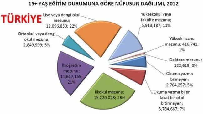 Türkiye'de okur yazar artıyor ama...