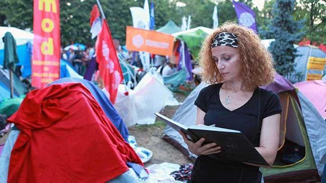 Gezi Parkı kendini günlüklerde anlatıyor