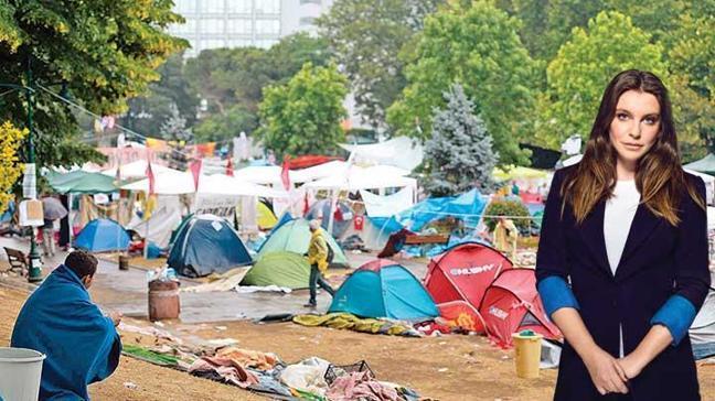 Gezi Parkı nöbeti