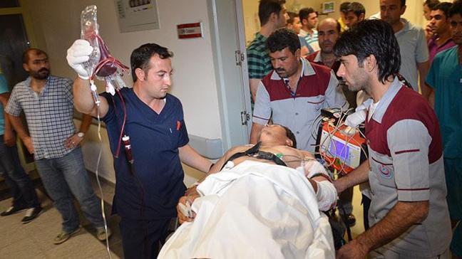 Hastanede silahlı saldırı!