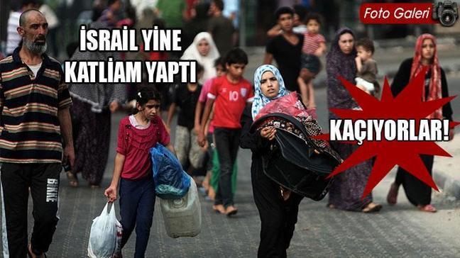 'İsrail bugün de 60 Filistinli öldürdü'