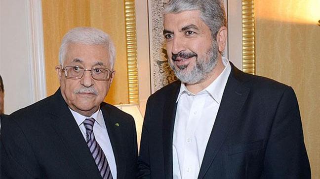 Mahmud Abbas Meşal ile görüştü