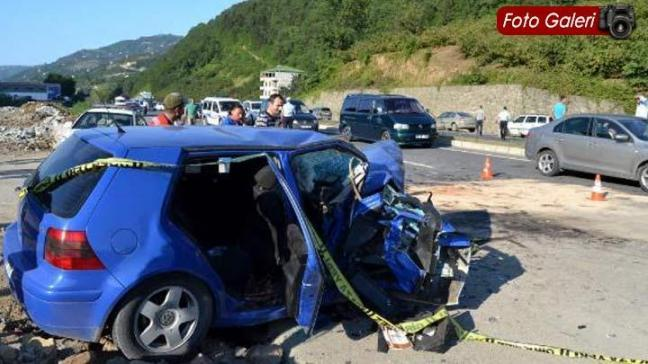 Trafik canavarı durmuyor: 7 ölü,10 yaralı!