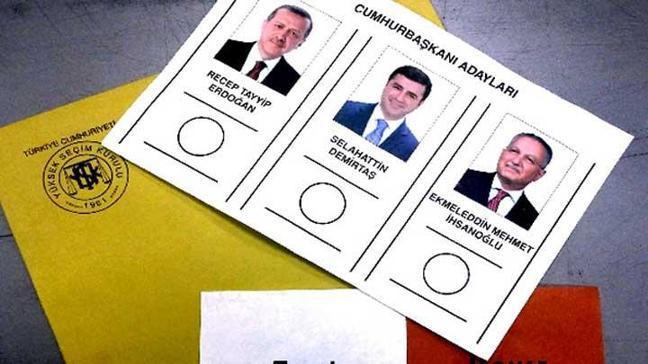 İşte oy pusulaları
