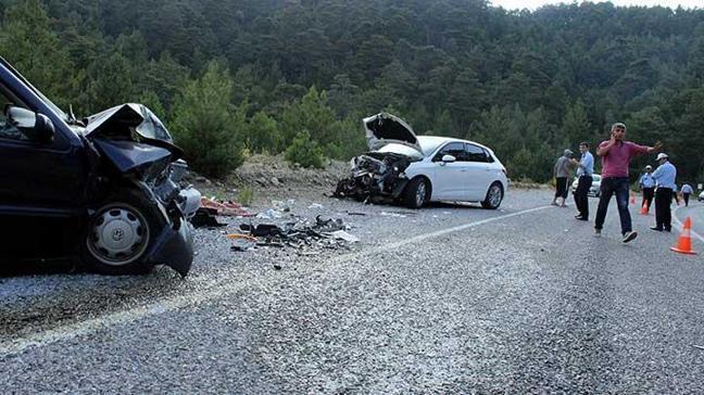 Muğla'da feci kaza