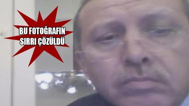 Erdoğan'ın o fotoğrafının sırrı çözüldü