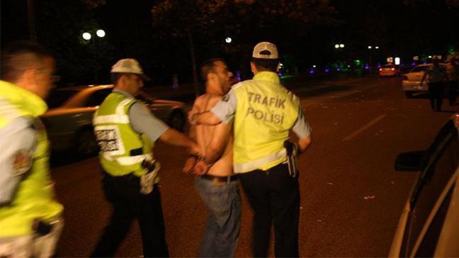 Alkollü sürücüler 'kapan'dan kaçamadı