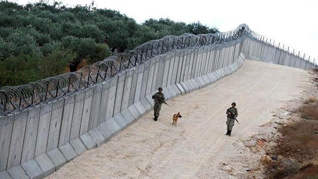 Suriye sınırına örülen 561 kilometrelik duvarın inşaatı tamamlandı