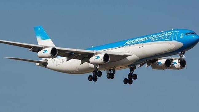 Arjantin'de havayolu çalışanları greve gitti