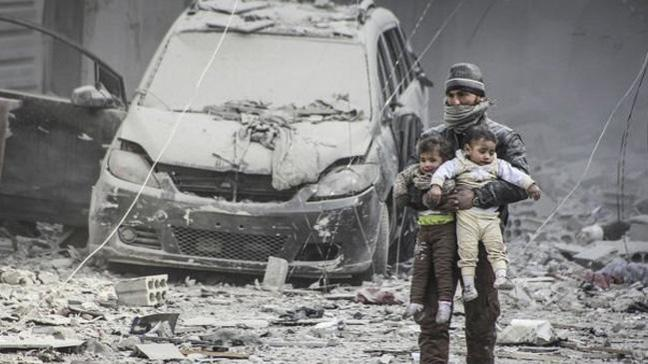 İdlib'te pazar yerine hava saldırısı: 42 ölü, 74 yaralı