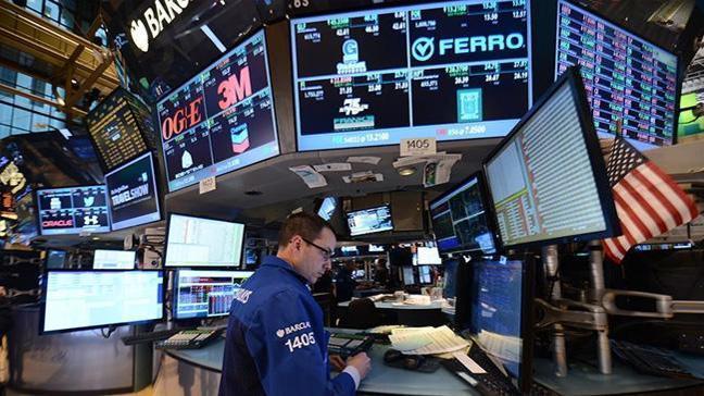 New York borsası son 6 haftanın en büyük düşüşünü kaydetti