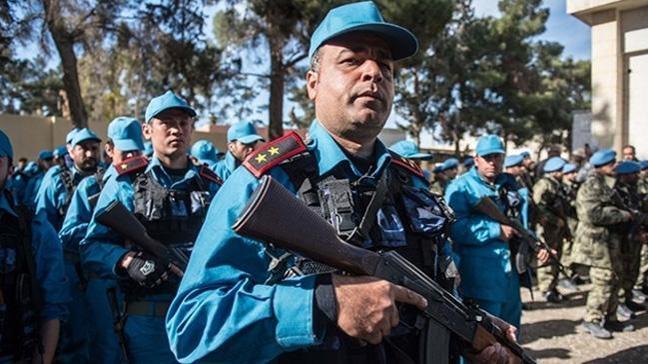 Afrin merkezin güvenliğini sağlaması için Türkiye bin polis eğitecek