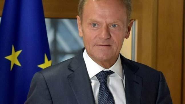 AB Konseyi Başkanı Tusk: AB liderleri, saldırının arkasında büyük ihtimalle Rusya var