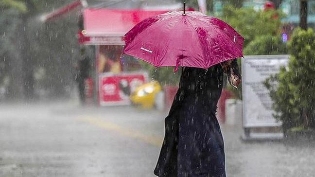 Sağanak yağış ve fırtına...