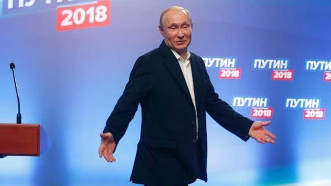Rusya'da gerçekleştirilen başkanlık seçimlerinin resmi sonuçları açıklandı