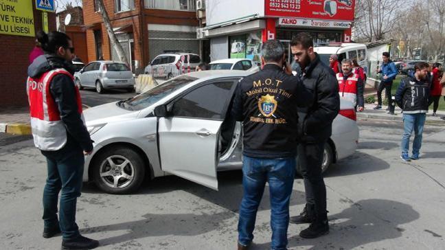 İstanbul'da okul çevrelerinde narkotik denetimi