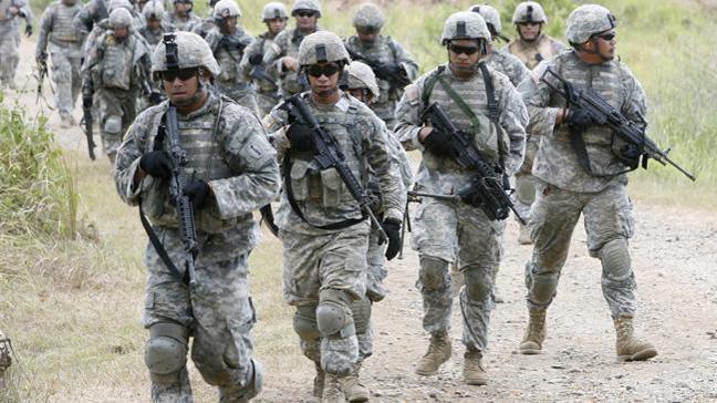 ABD'nin askeri ve sivil yetkilileri Münbiç'te