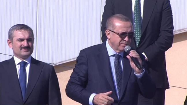 Cumhurbaşkanı Erdoğan: Öyle kaçtılar ki, Suriye'ye kadar