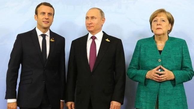 Fransa ve Almanya'dan Rusya'ya karşı sert adımlar