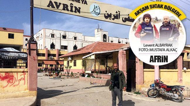 TSK Afrin'e girince hainlerhastaneyi yağmalamış!