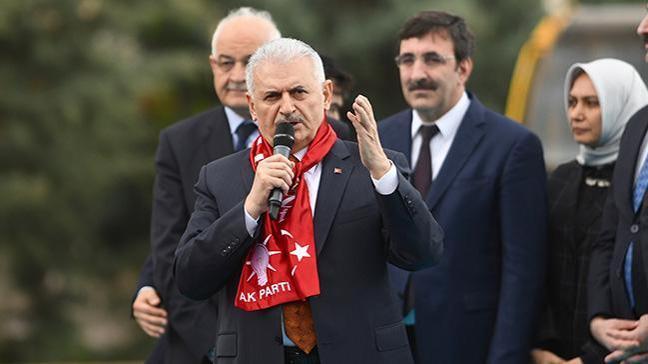 Başbakan Yıldırım: Türkiye'nin terörle mücadelesini engellemek isteyenler hüsrana uğramaya mahkum