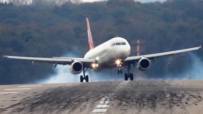 Cumhurbaşkanı Erdoğan'ın uçağı hava muhalefeti nedeniyle Havalimanına inemedi
