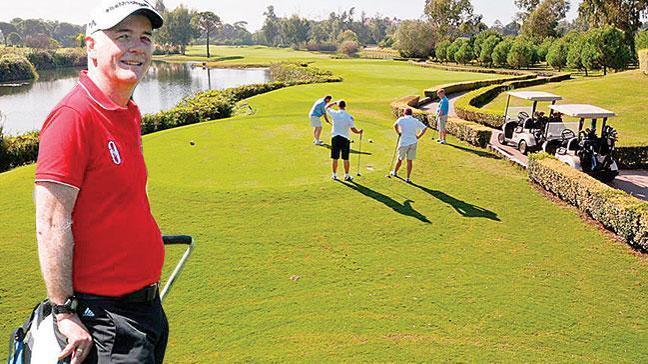 Türk turizmine 'elçi'lik etti 95 bin İngiliz golf için geldi