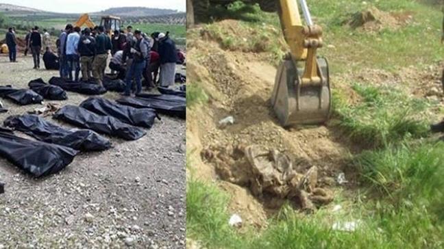 110 ÖSO askerinin toplu mezarı ortaya çıkarıldı