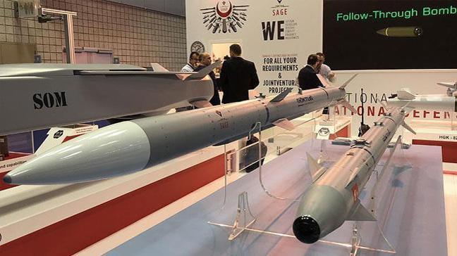 İlk milli hava füzeleri GÖKDOĞAN ve BOZDOĞAN'ın yerden balistik atışları başarıyla gerçekleştirildi
