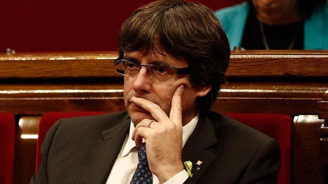 Eski Katalonya Başkanı Almanya'da gözaltına alındı