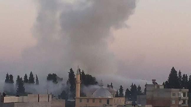 Suriye'nin Cerablus ilçesinde bomba yüklü araçla düzenlenen saldırıda 13 kişi yaralandı