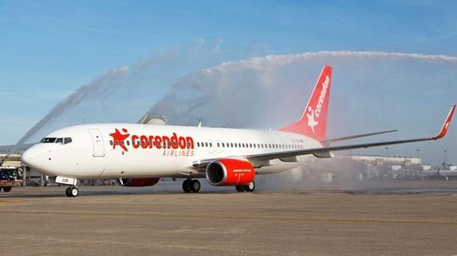 Sezonun ilk charter uçağı geldi
