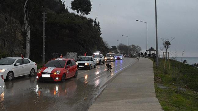 Sinop'tan Afrin'e destek konvoyu