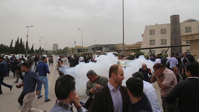 IKBY'de hükümet karşıtı gösteri