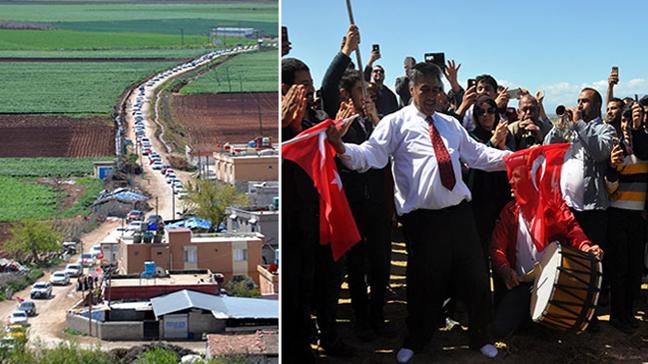 Tayy Aşireti, TSK'nın Zeytin Dalı Harekatı'ndaki başarısını davul zurnayla kutladı