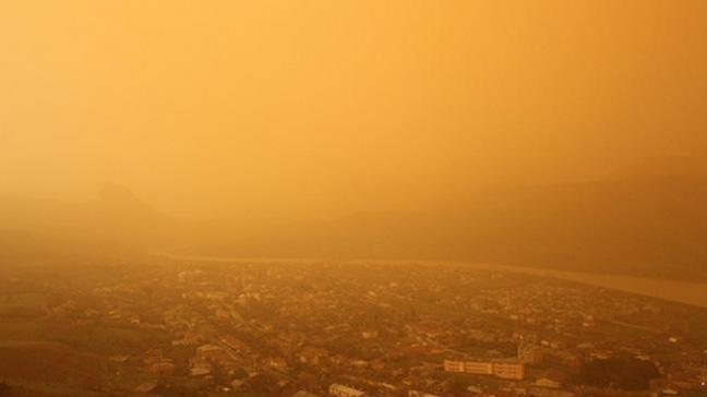 Meteoroloji'den yarın için toz uyarısı