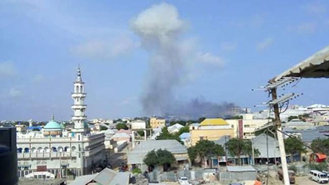 Somali'nin başkenti Mogadişu'da patlama meydana geldi