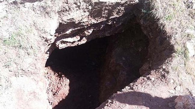 Adıyaman'ın Çelikhan ilçesinde izinsiz kazı yapan 3 şüpheli gözaltına alındı