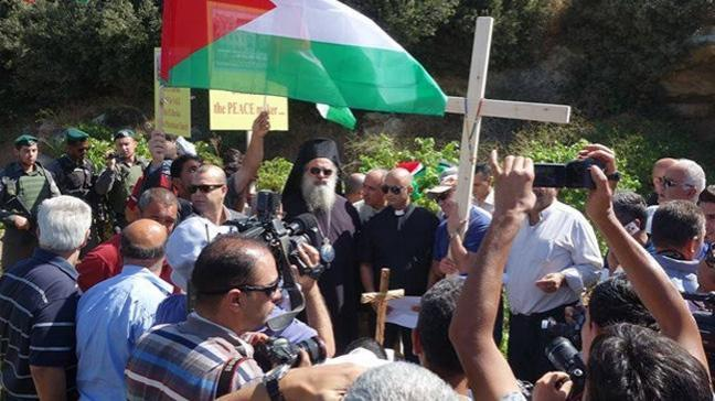 İsrail'den Hristiyan Filistinlilere saldırı
