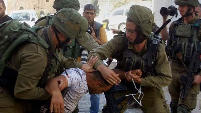İsrail askerlerinin işgal altındaki Batı Şeria'da 43 Filistinliyi gözaltına aldığı bildirildi