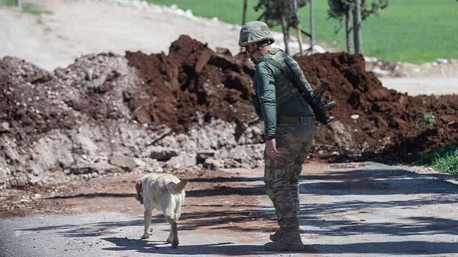 Afrin'de patlayıcıyı 'Leylak' buldu 'METİ' imha etti