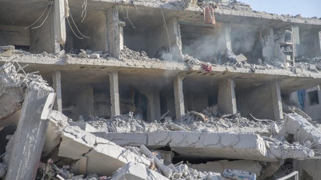 Afrin'de aile YPG/PKK'nın bomba tuzağının kurbanı oldu